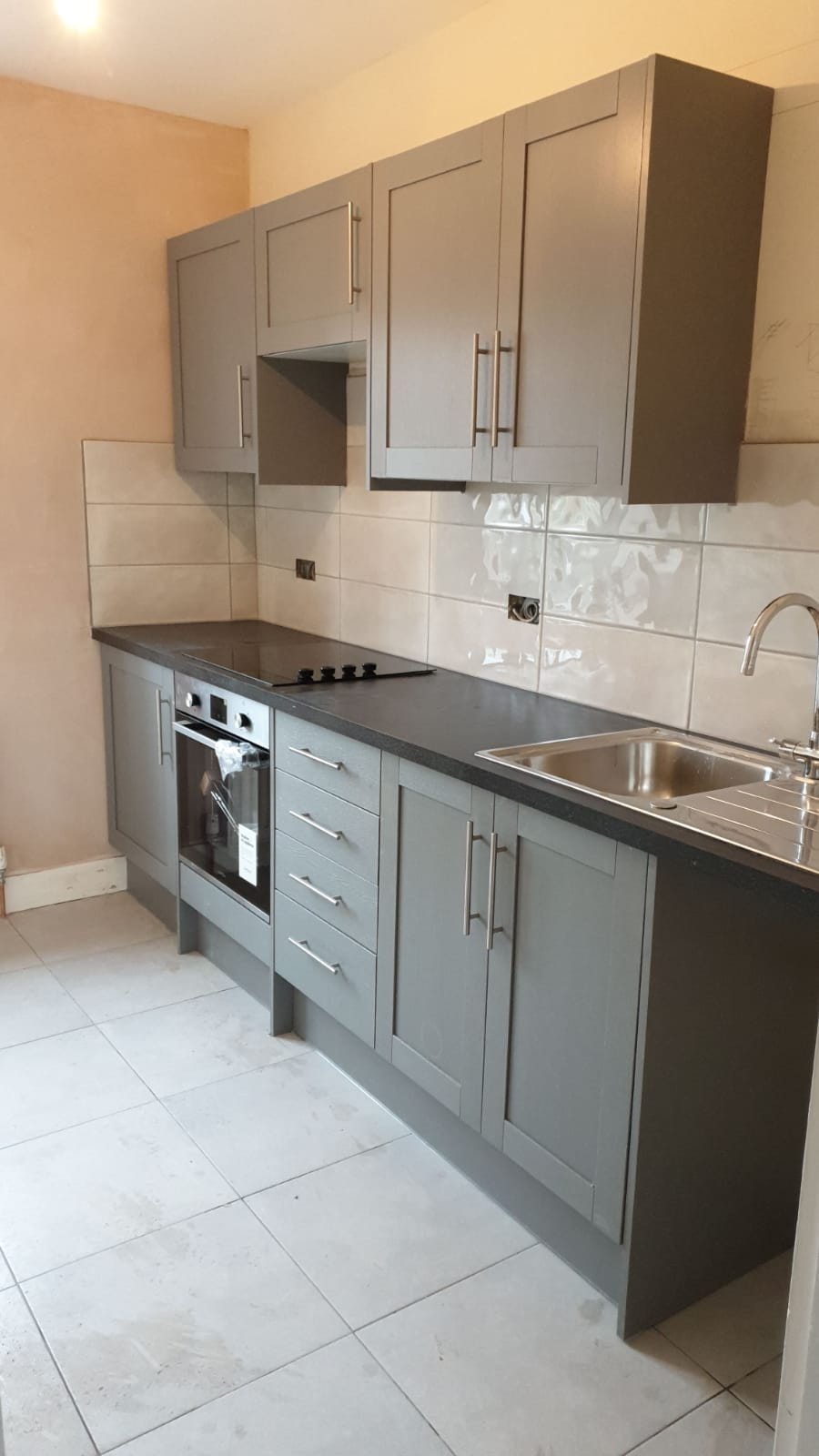 New small kitchen fitted in West Sussex.